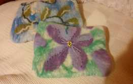 kindle cover and mobile phone cover hand felted b blythwhimsies 2016-01-19 22.19.23